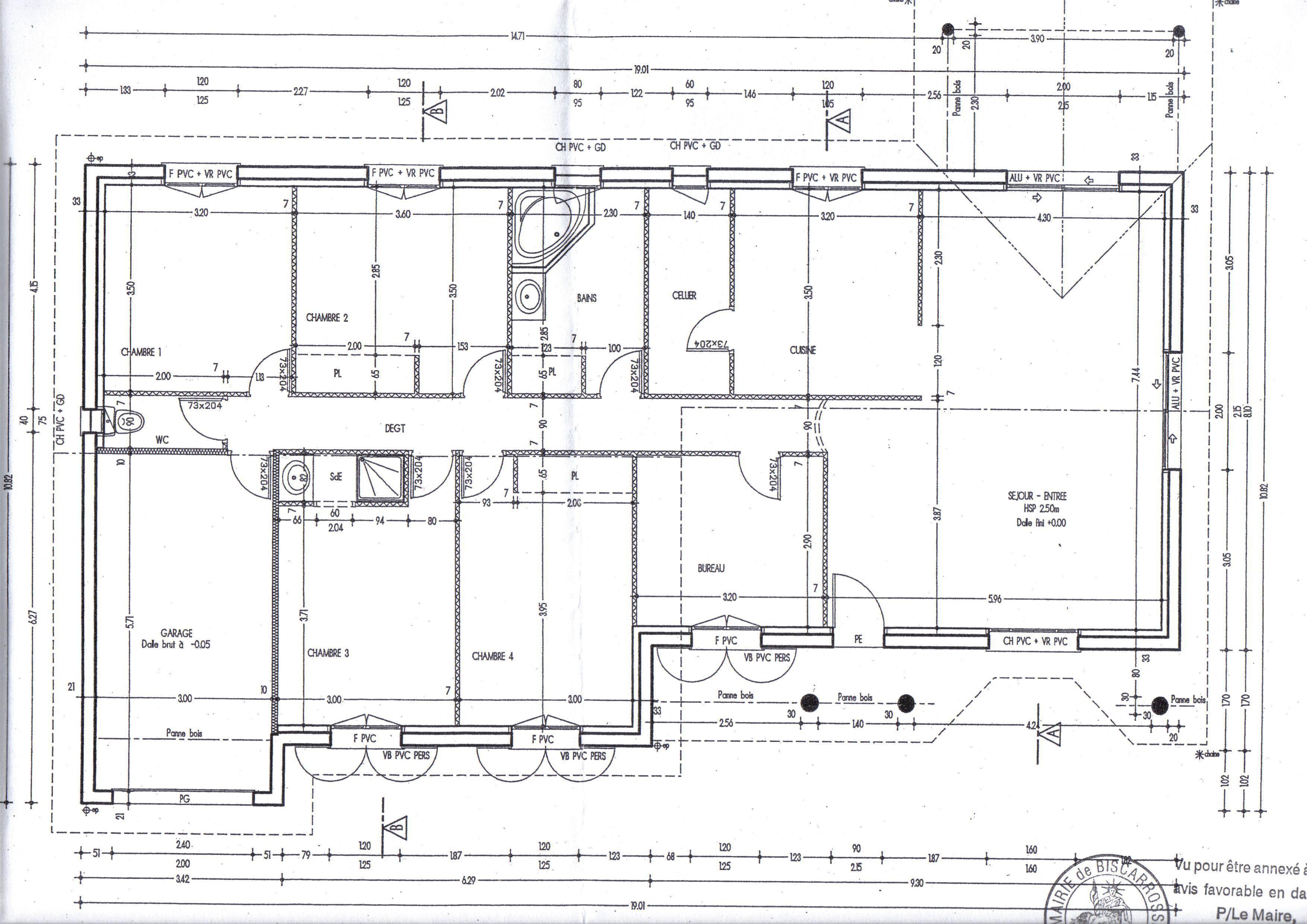 Le plan de la maison for Le plan de la maison